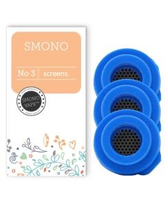 Varmista, että höyrysi on aina puhdasta, vaihtamalla suojaverkot säännöllisesti Smono 3 -vaporisaattoriisi